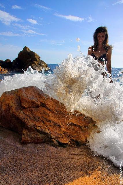 Волны в Каталонии