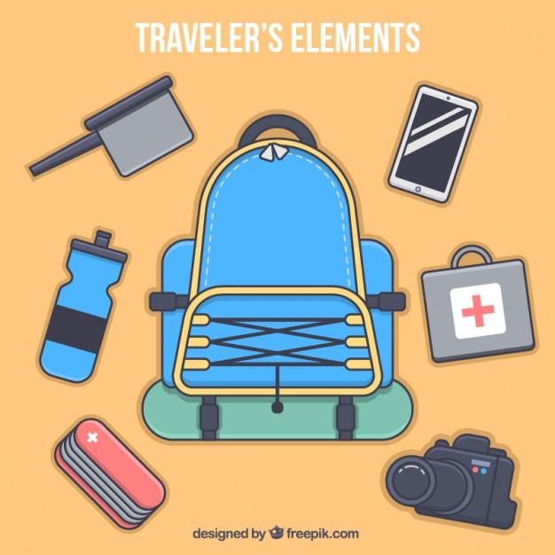 11 Benda Kecil Yang Perlu Dibawa Saat Traveling