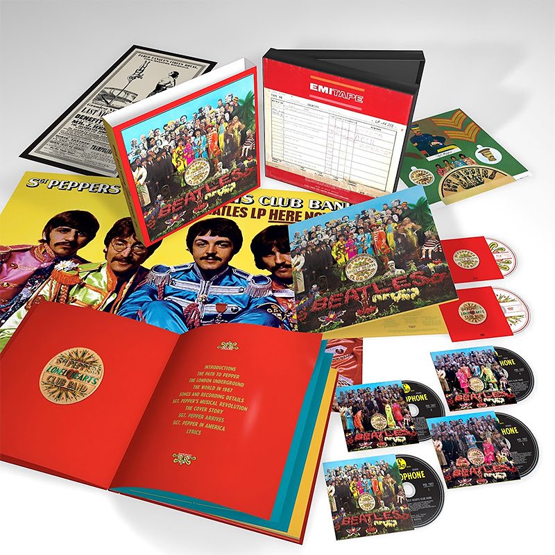 Édition spéciale de «Sgt. Pepper» des Beatles pour le 50e anniversaire