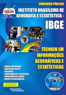 Apostila Técnico em Informações Geográficas e Estatísticas IBGE