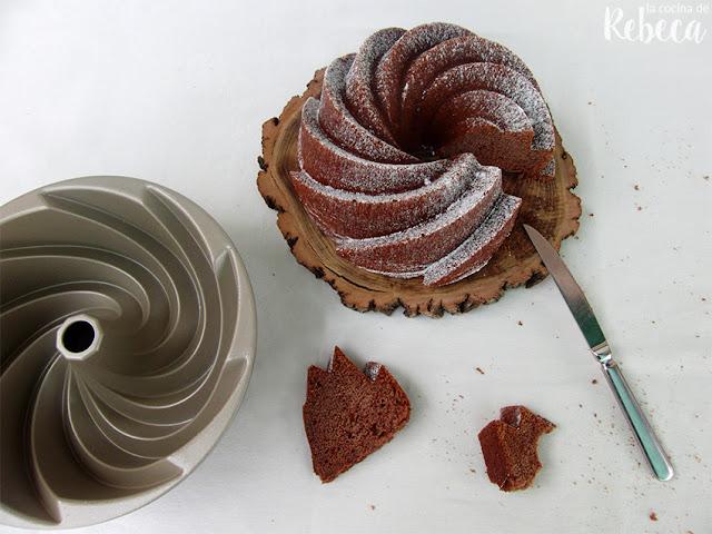 Bundt cake de chocolate