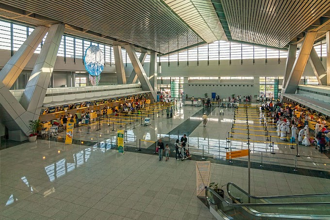 First International Trip: Experiencing NAIA Terminal 3 Departure Area, and Immigration in the Philippines