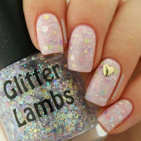 Marshmallow ABC's Glitter Lambs Nail Polish