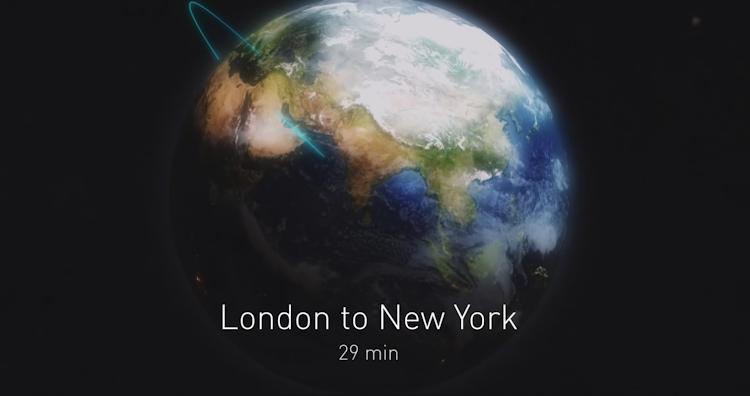 Илон Маск & SpaceX, Презентация BFR — Из Лондона в Нью-Йорк
