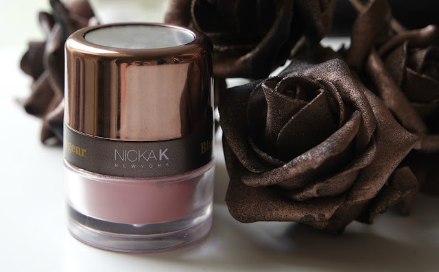 Nicka K Colorluxe Powder Blush in Mauve Rose