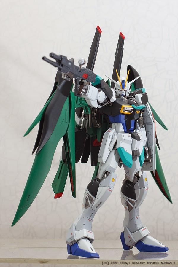 Painted Build: MG 1/100 Destiny Impulse R