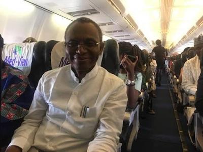 Kaduna state gov, Nasir El Rufai, spotted flying economy class