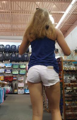 chicas shorts sexys apretados