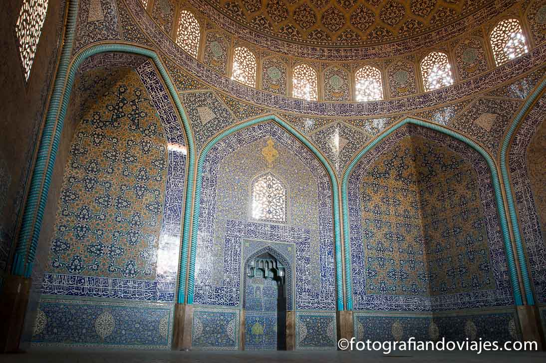 Mezquita Sheikh Lotfollah en Isfahan