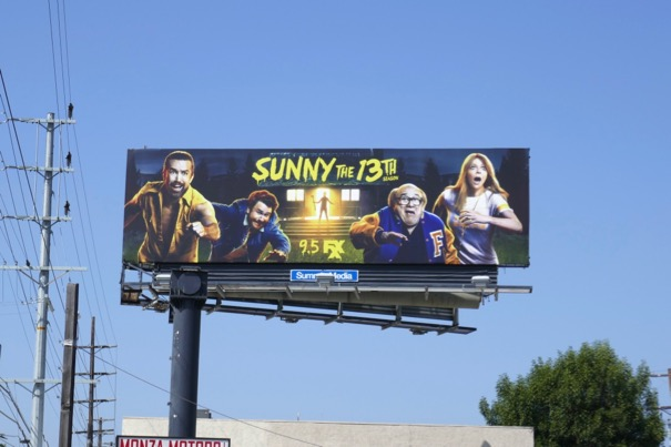 Always Sunny Philadelphia season 13 billboard