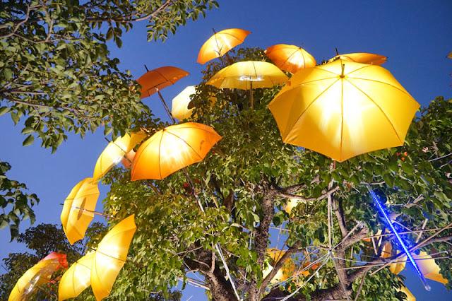 DSC06512 - 太平景點│臺中市屯區藝文中心傘亮花博裝置藝術,帶我走或把傘留給我