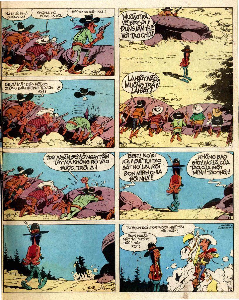 Lucky Luke tap 2 - ke san tien thuong trang 37