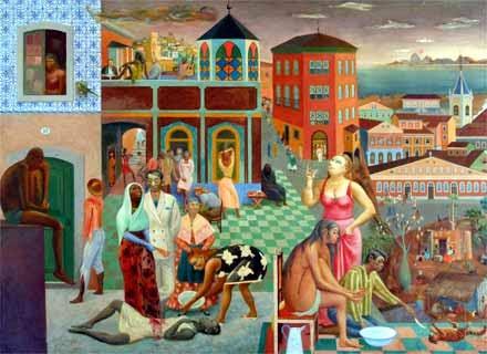 A Morte de Alexandrina - Carybé ~ Um pintor fascinado pela cultura da Bahia