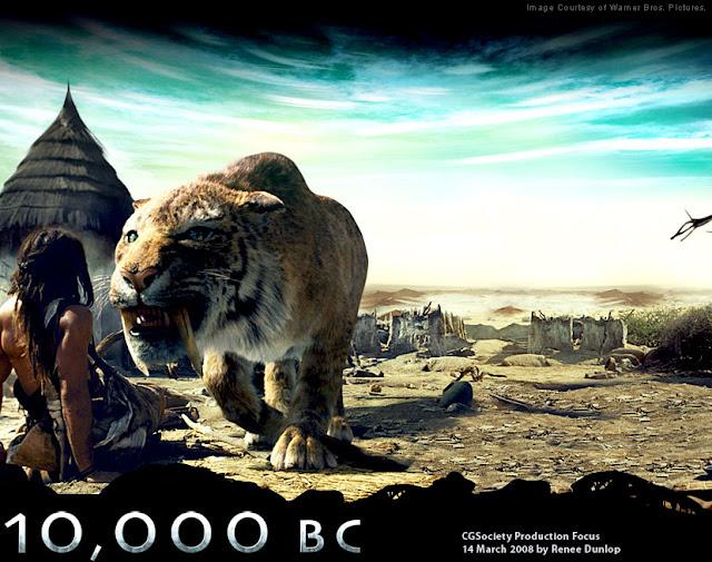 Hantu Baca Film Kolosal Terbaik Wajib di Tonton  10,000 BC (2008)