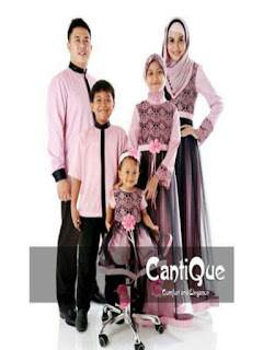 baju seragam keluarga saat lebaran
