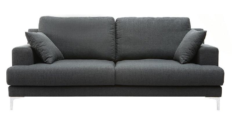 divano 3 posti modello BOMEN rivestimento grigio scuro