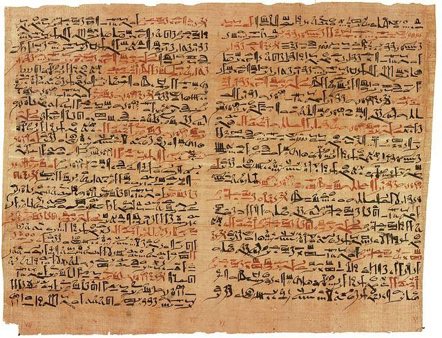penemuan dokumen papirus mesir