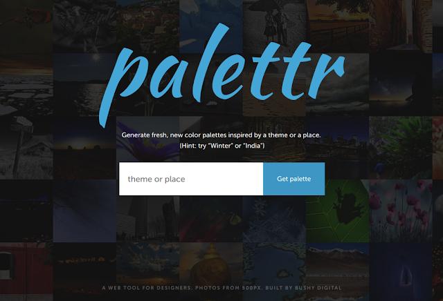 palettr, generador de paletas de colores