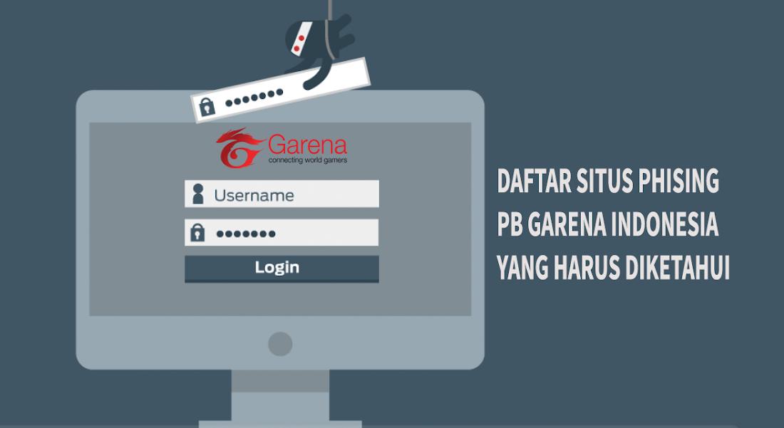 10+ Situs Phising PB Garena Yang Harus Kamu Waspadai