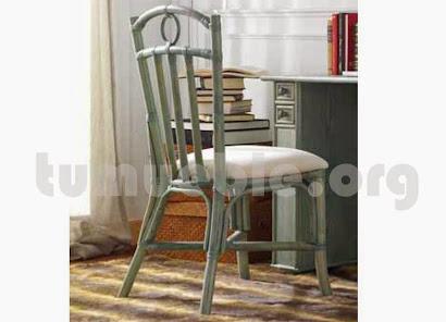 silla hecho en caña de bambú 708