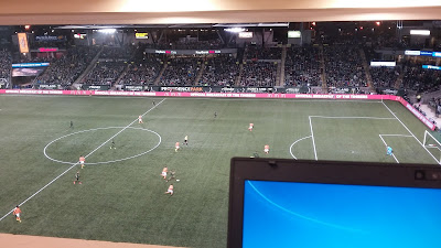press box, Providence Park, MLS, Major League Soccer, Portland,