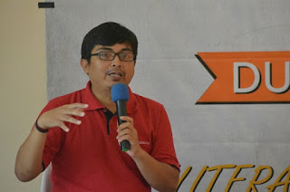 Nandar, Kepala Perpustakaan Cinta Baca Bogor
