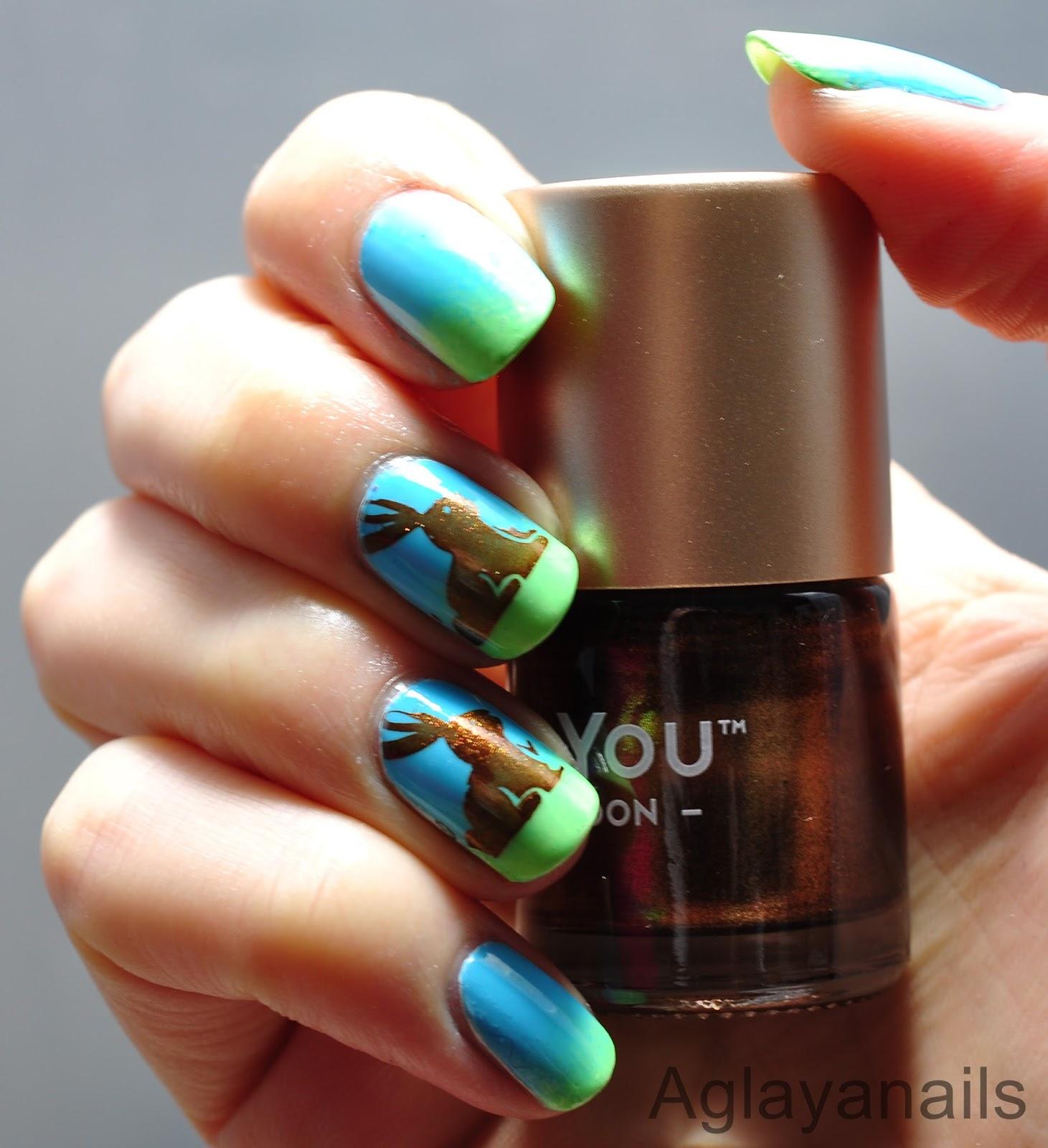 Aglayanails 26 great nail art ideas spring animals 26 great nail art ideas spring animals prinsesfo Choice Image