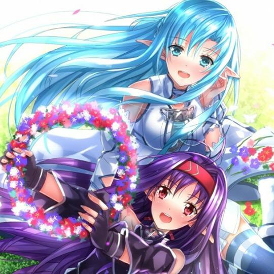 SAO Yuuki & Asuna Wallpaper Engine
