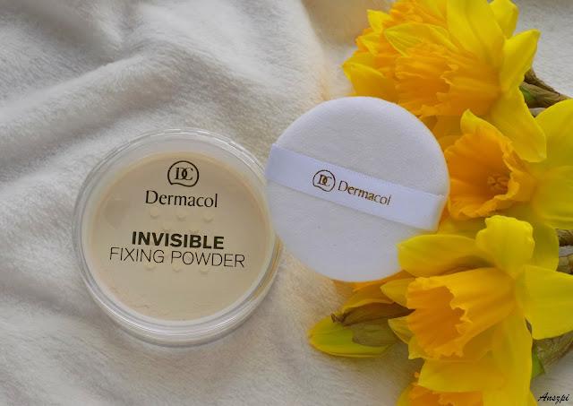 Utrwalający i matujący puder Invisible Fixing Powder, Dermacol
