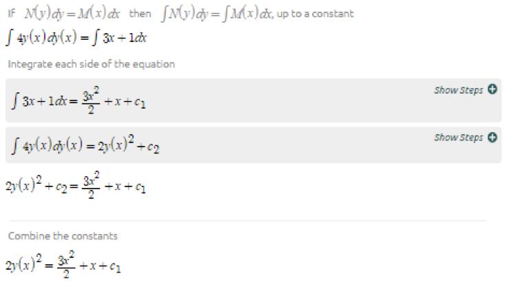 Symbolab Blog: Advanced Math Solutions – Ordinary