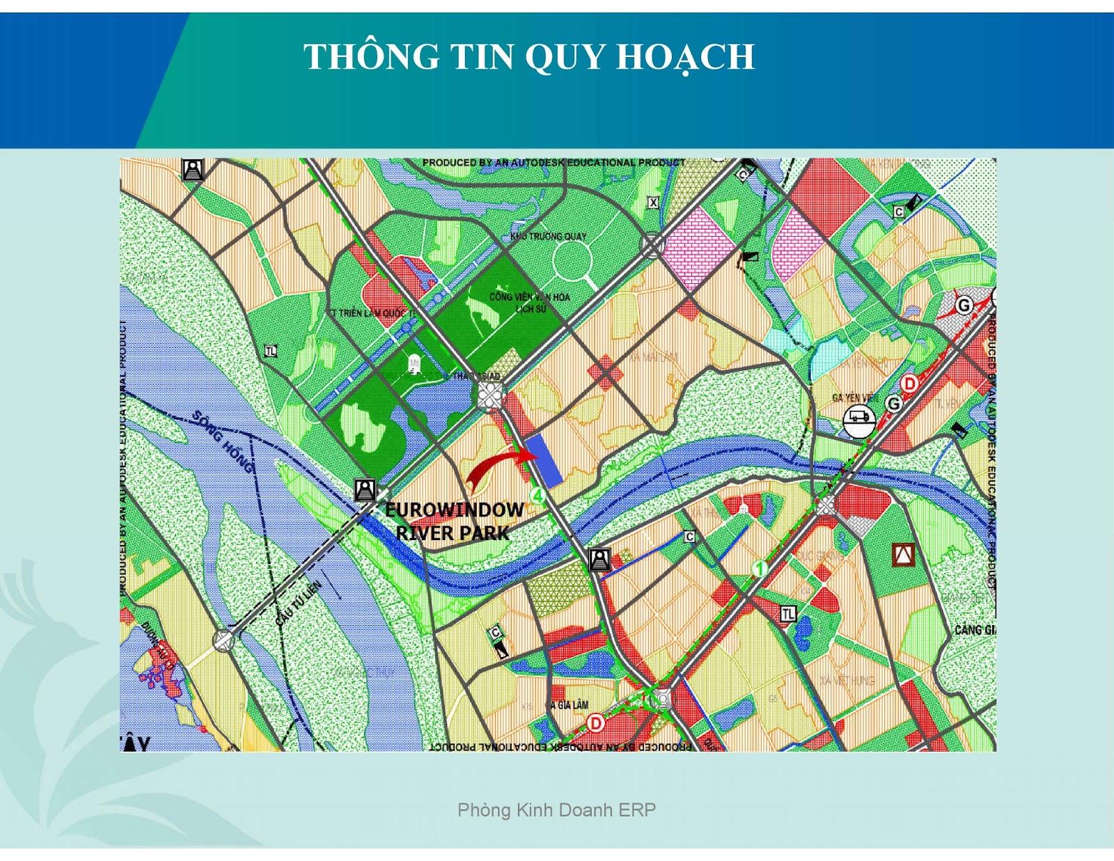Bản đồ quy hoạch khu vực phía Bắc Thủ đô