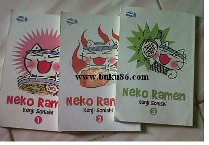 Komik Neco Ramen bekas Lengkap
