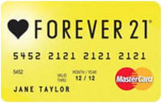 BDO Forever 21 Card