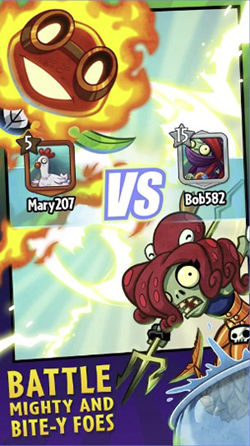Plants vs. Zombies Heroes Mod Apk