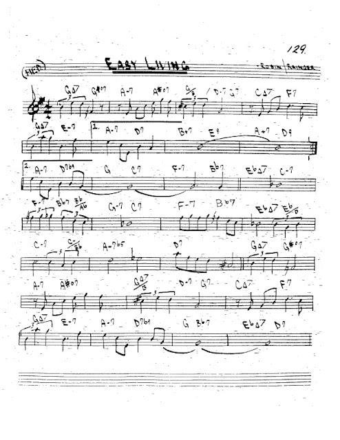 Partitura Trompeta Robin and Rainger