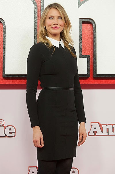 Cameron Diaz Photo call for the musical 'Annie' in London
