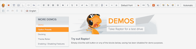 Raptor Editor
