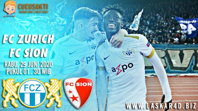 Prediksi Bola FC Zurich vs Sion 29 Juli 2020