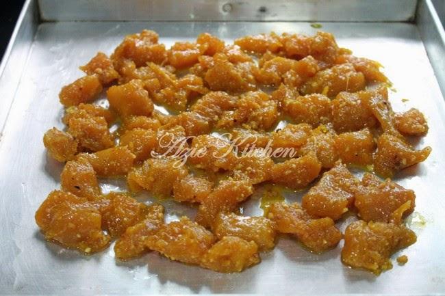 Kuah Kacang Dan Sate Ayam Goreng