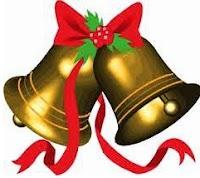 Dibujo de las campanas de navidad a colores