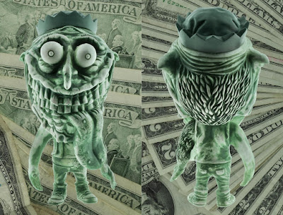 Zinewolf Dead Presidents Edition Vinyl Figure by Hateball