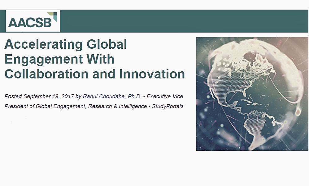 international innovation and collaboration in business management education