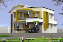 2282 Square Feet Modern 4 Bhk Home - Kerala Design