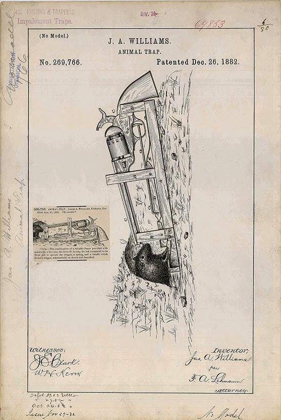 Огнестрельная супер мышеловка 19 века