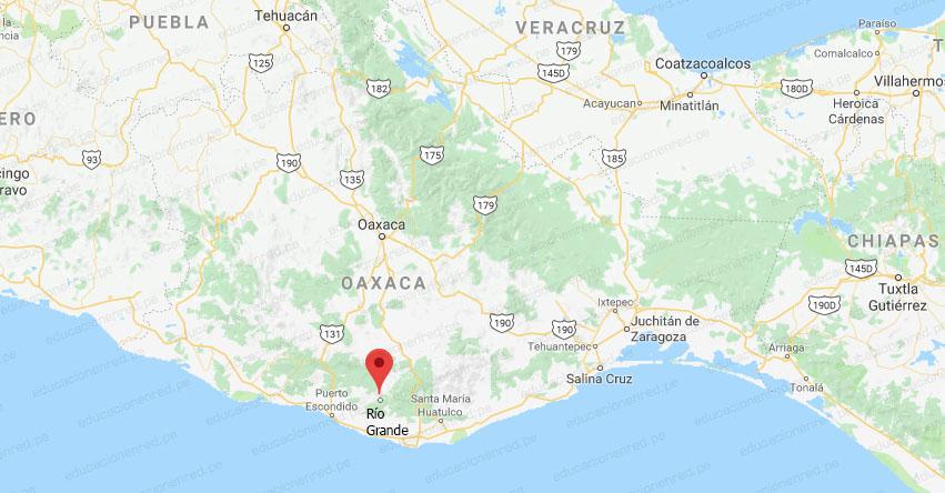 Temblor en México de Magnitud 4.1 (Hoy Martes 8 Enero 2019) Sismo Temblor EPICENTRO - Río Grande - Oaxaca - SSN - www.ssn.unam.mx