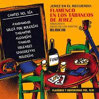 Diego de los Santos Bermúdez, Diego Rubichi  Flamenco en los Tabanco de Jerez