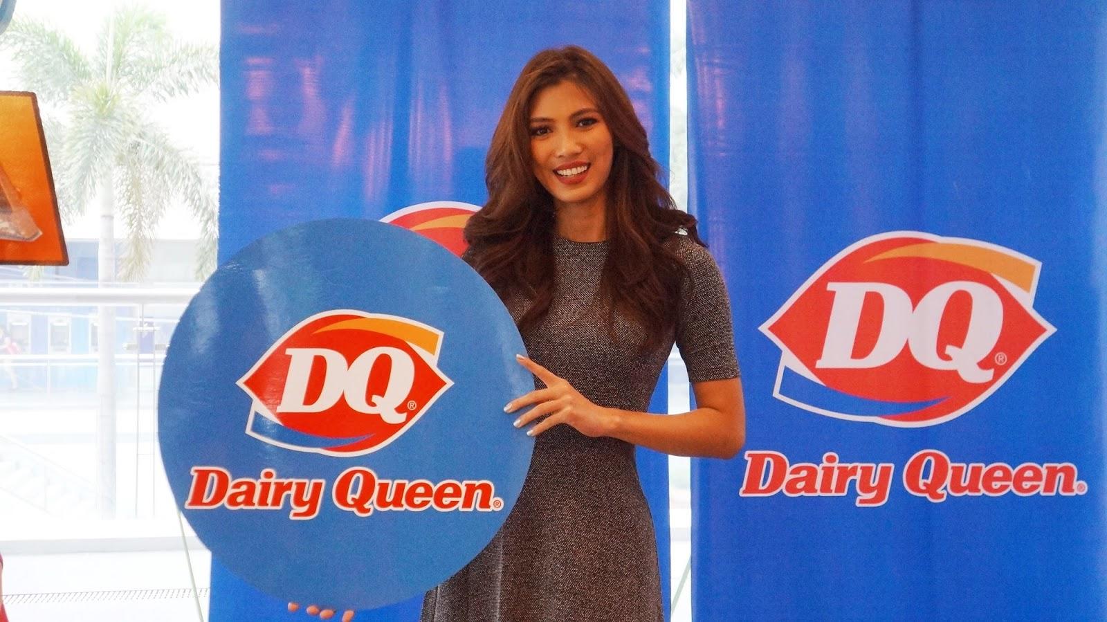 Nicole Cordoves For Dairy Queen S Toblerone Blizzard And