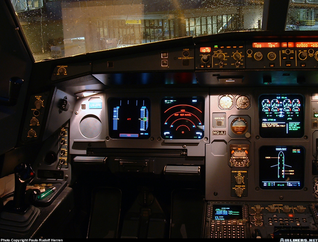 Jet Airlines: Airbus A...F 22 Cockpit Wallpaper