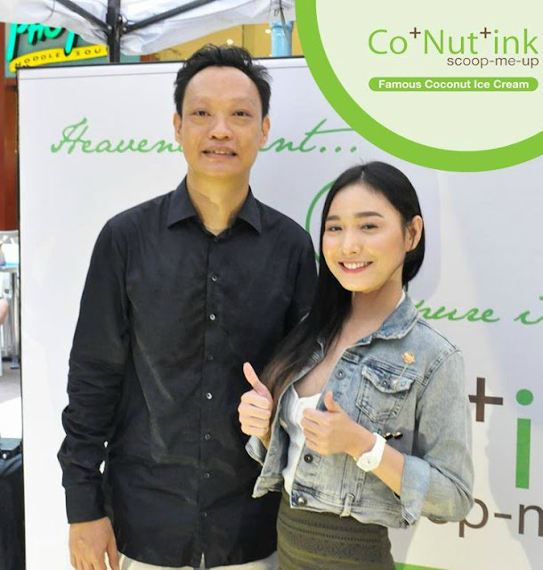 CoNutInk founder and endorser