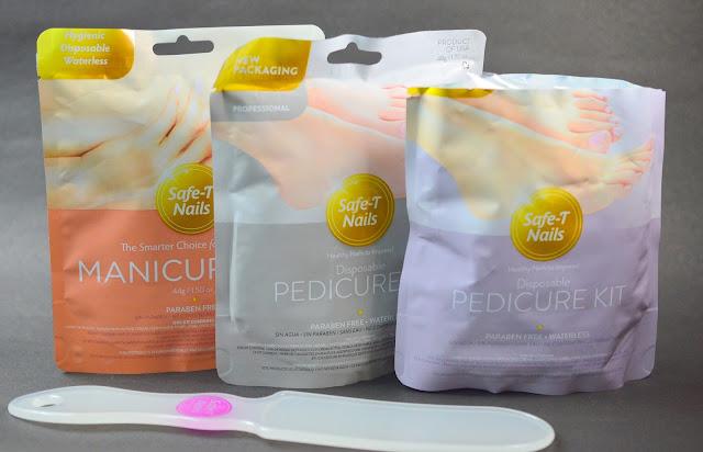 Safe-T Nails Manicure & Pedicure Kits